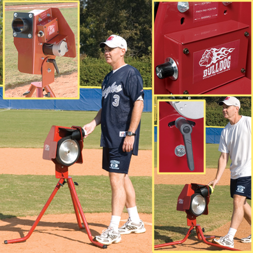 Bulldog Pitching Machine