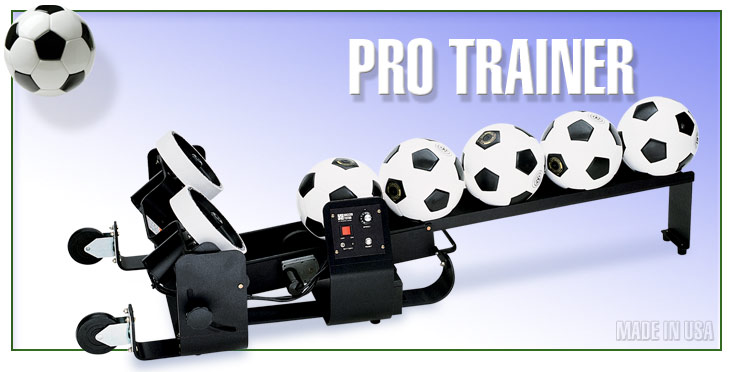 pro trainer soccer machine