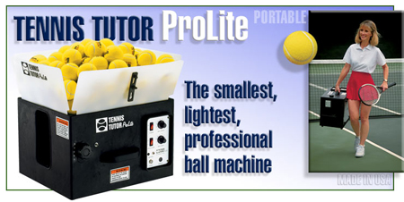 Sports Tutor ProLite Tennis Machine