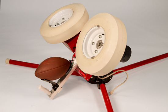Football Throwing Machines - throws tight spirals and ...