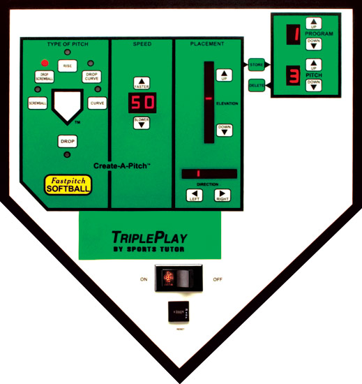 TriplePlay Softball Control Panel