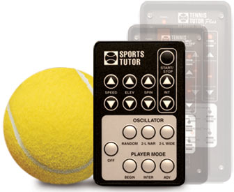 Tennis Tutor Player Plus Multi-Function Remote