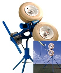 Jugs Curveball Fastball Pitching Machine With Autofeeder