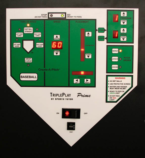 TriplePlay Prime Programmable Softball Control Panel