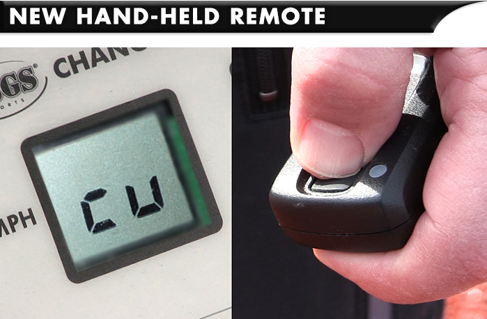 New Handheld Remote