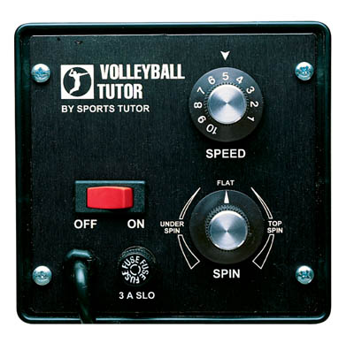 Sports Tutor Volleyball Control Panel
