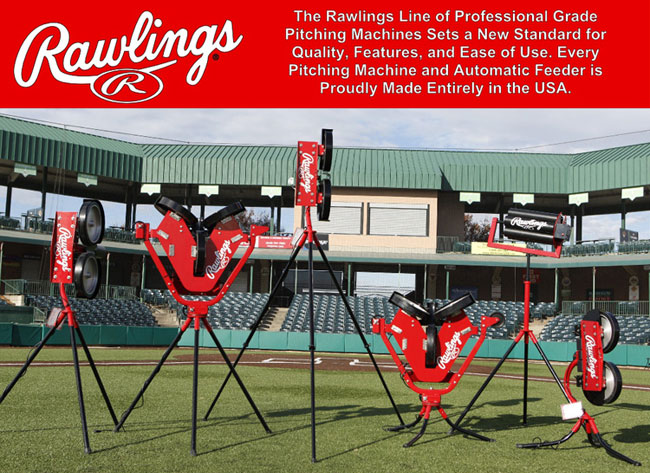 Rawlings Pro Line Softball Pitching Machines