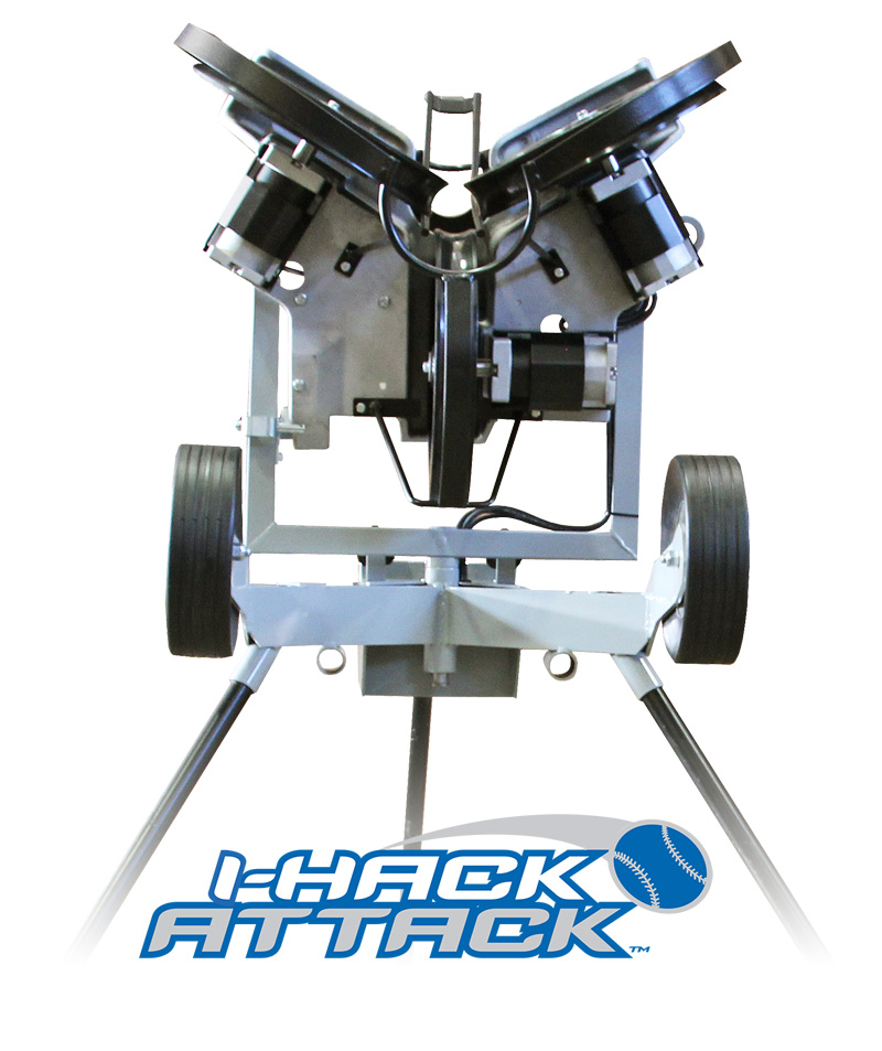 I-Hack Attack Baseball Pitching Machine