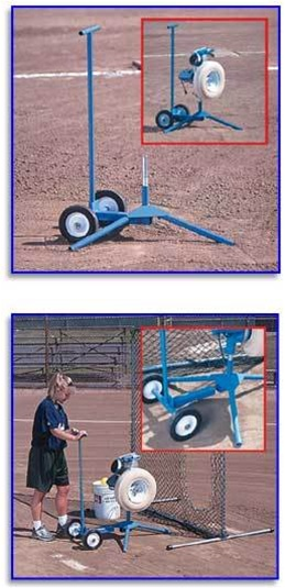 Jugs Softball Cart